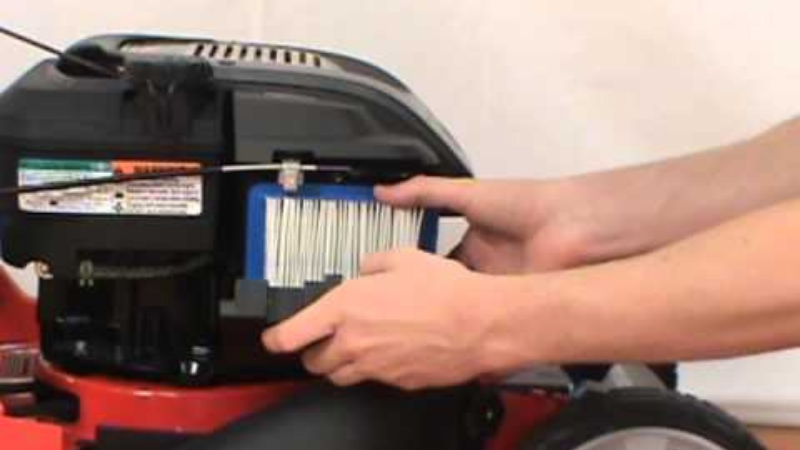 Why Does My Lawnmower Stop Running When It Gets Hot - lawnmower leaky air filter