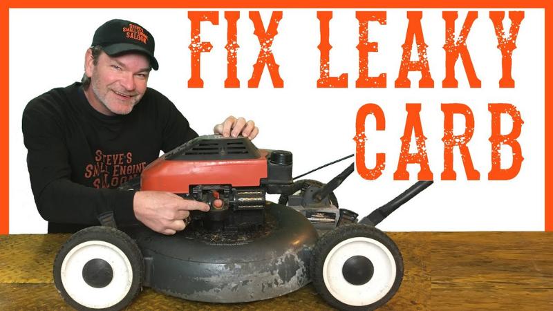 Why Is My Lawnmower Carburetor Leaking Gas?