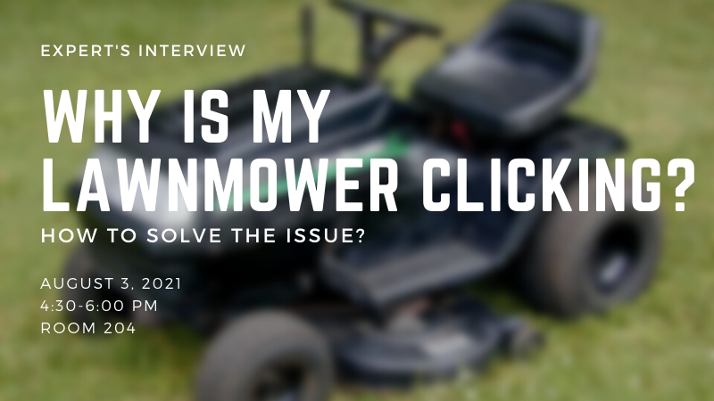 Why Is My Lawnmower Clicking