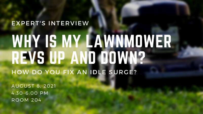 Why Is My Lawnmower Revs Up And Down - How Do You Fix An Idle Surge