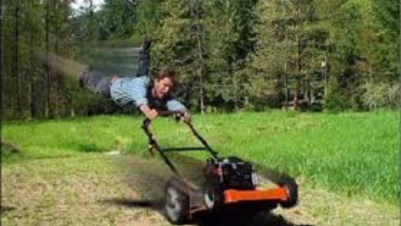 Why Is My Lawnmower Revs Up And Down?