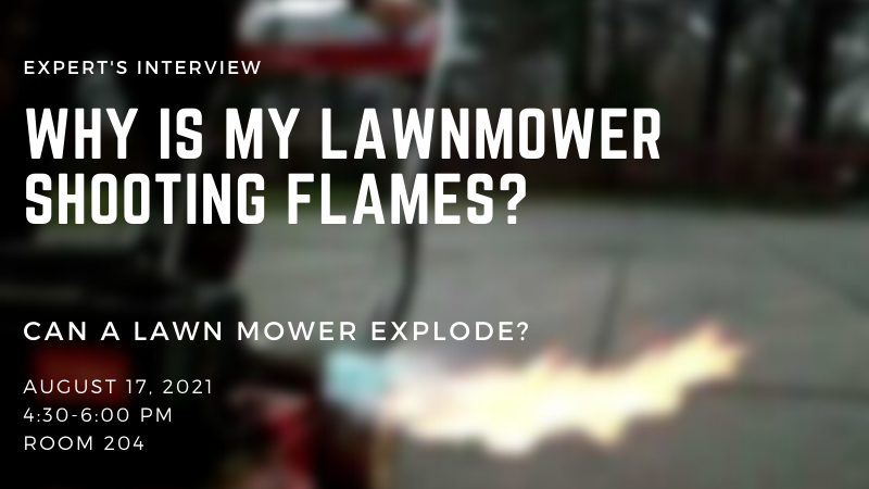 Why Is My Lawnmower Shooting Flames