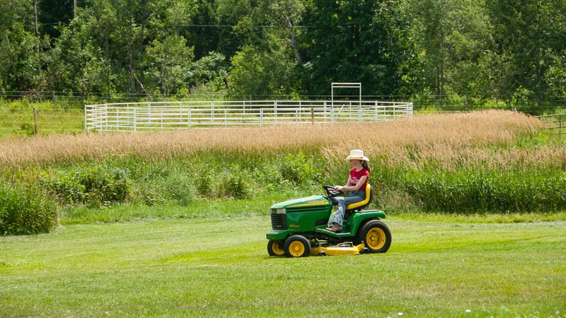 Why Run your Mower at Full Throttle?