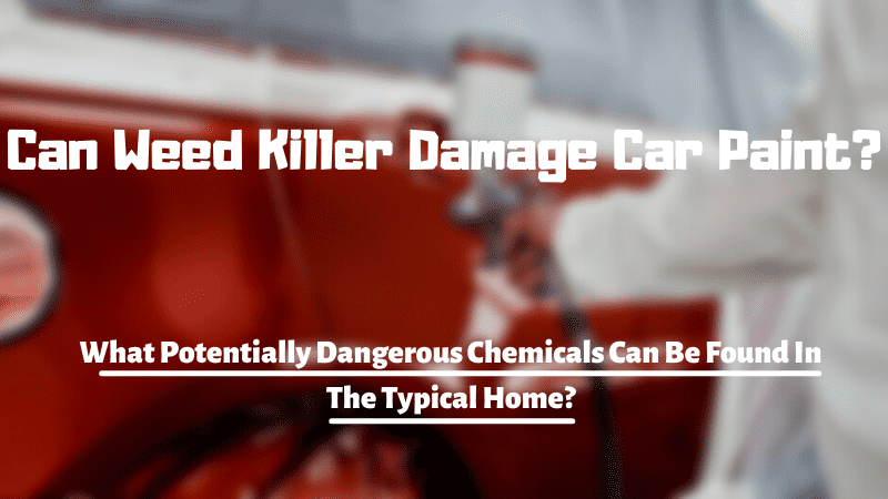 Can Weed Killer Damage Car Paint?