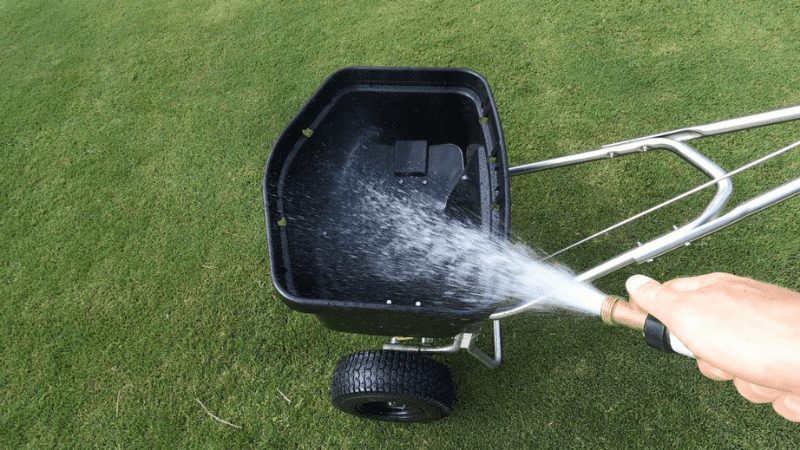 How Do You Clean A Fertilizer Spreader?