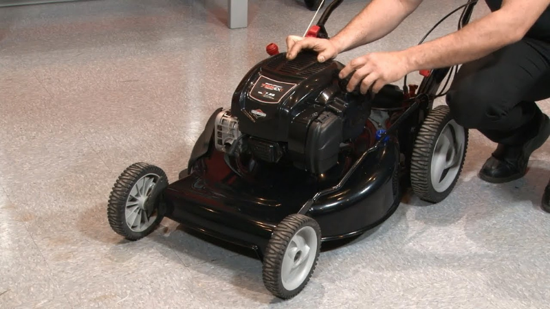 How Do You Start A Briggs And Stratton Lawnmower?