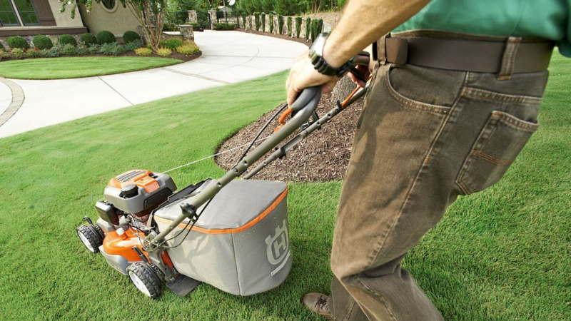 How Do You Start A Lawnmower With Sat For Years?