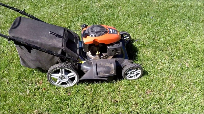 How to start Poulan Lawn Mower Xt675 - A Self-Propelled Lawnmower