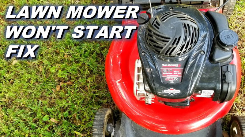 Why Is My Lawnmower Cranking But Not Starting?